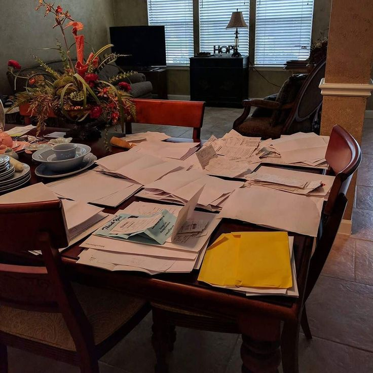 Sometimes the job must go to the dining room table.  Year 3 for a client who trusts me to get her receipts in order for filing her taxes.  ___ Need a VA? Check my link in bio. ___ #taxfiling  #virtualassistant #administrativeassistant #executiveassistant #personalassistant #eventplanning #travelplanning #FemaleEntrepreneurs #Success #Pinterest