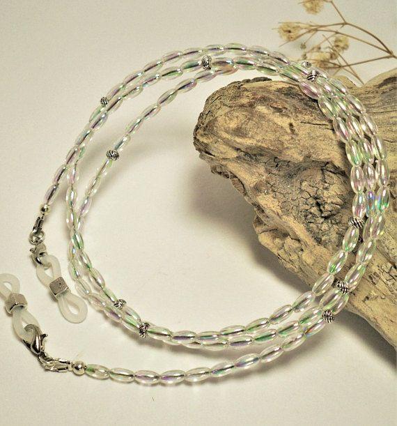 Luxury Eyeglass Chain 26-30 Clear Glasses Strap