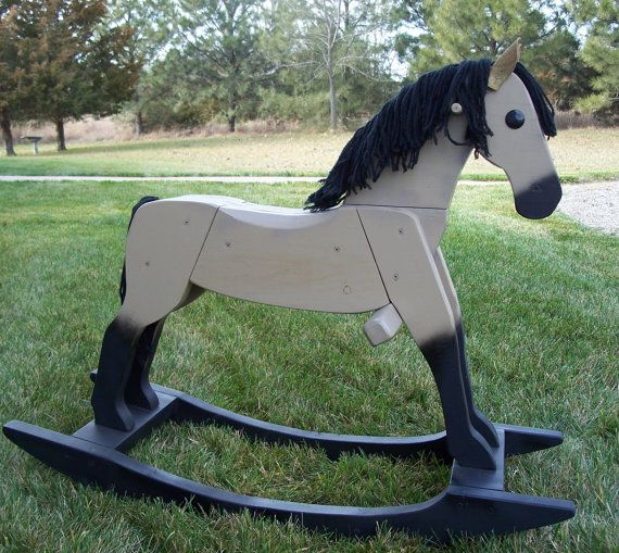 Beautiful handmade wooden rocking horses by therockinghorsebarn