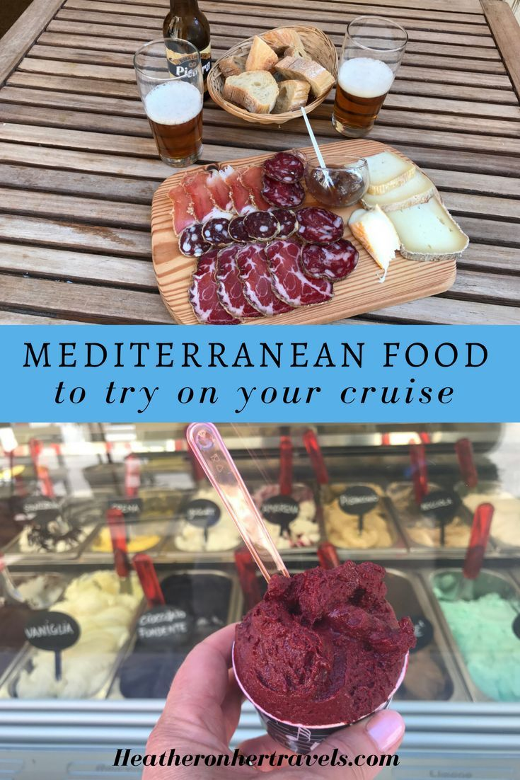 Delicious Mediterranean foods to try on your cruise. Travel Tips.