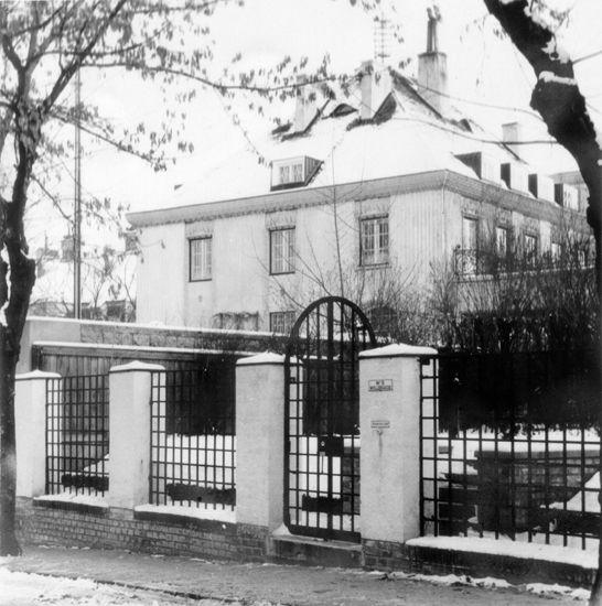"""""""Villa Ast"""" auf der """"Hohen Warte"""" in Wien"""