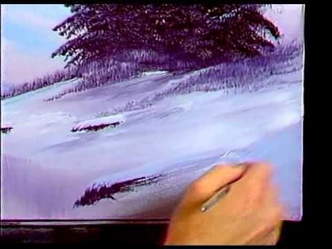 ▶ Bob Ross - Purple Splendor - Painting Video - YouTube