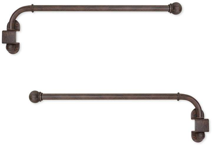 Kohl's Swing Arm Adjustable Curtain Rod   Curtain rods ...