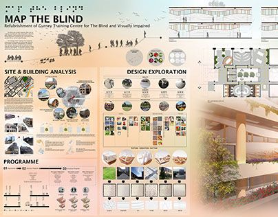 Check Out New Work On My Behance Portfolio MAP THE BLIND INTERIOR DESIGN