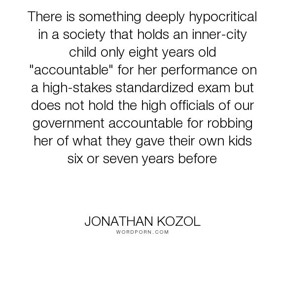 Jonathan Kozol on America's Educational Apartheid