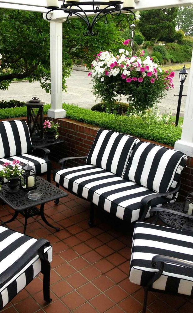 62 Best Patio Furniture And Ideas Images In 2020 Part 25 White Patio Furniture Patio Cushions Outdoor Black Patio Furniture