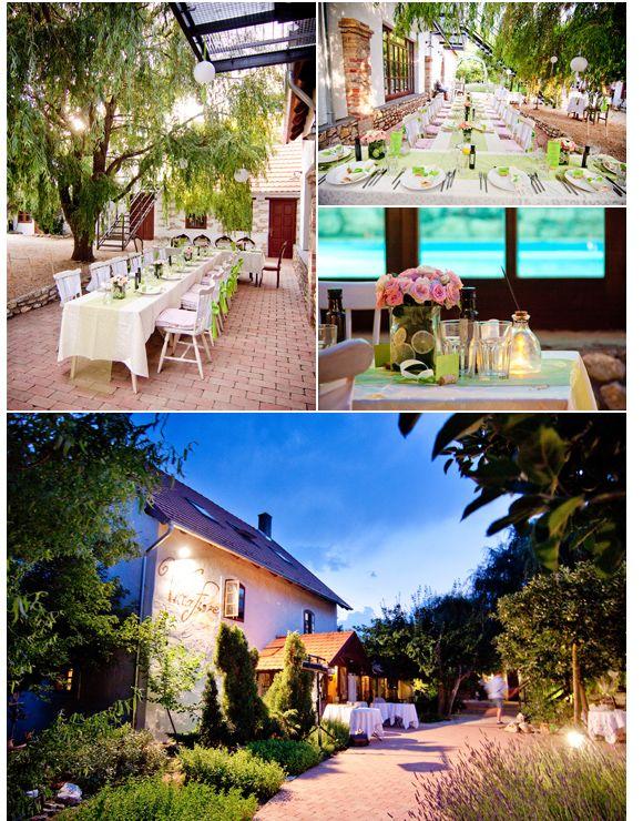 07 Lesencetomaj Villa Fiore esküvői helyszín, Balaton