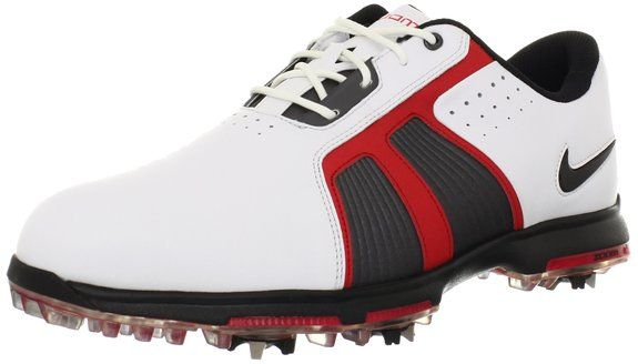 Made from synthetic material with a manmade sole these mens zoom trophy golf shoes by Nike feature full-length contoured sockliner and full-length Phylon midsole