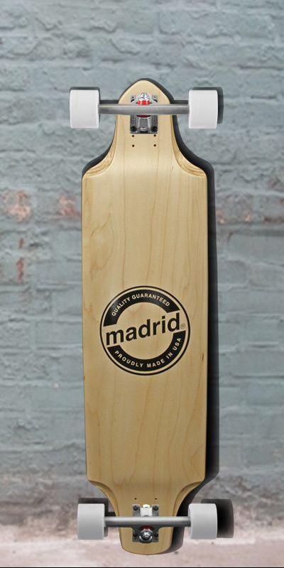 "Longboards USA - Madrid 2015 Deviant Maple Downhill Longboard 38"" - Complete, $245.00 (http://longboardsusa.com/longboards/downhill-longboards-riding-style/madrid-2015-deviant-maple-downhill-longboard-38-complete/)"