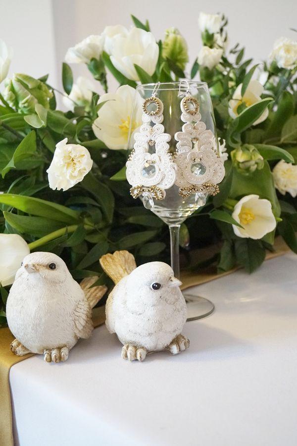 http://www.weddingproject.eu Wedding soutache earrings