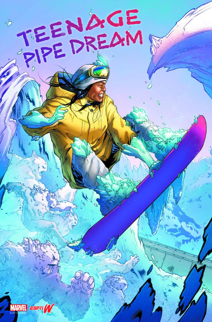 At the ripe old age of 14, snowboarder Chloe Kim rode her way into X Games history, nabbing gold in the superpipe and, in doing so, became the youngest gold medalist in a winter event.