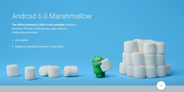 What's an Android Marshmallow?