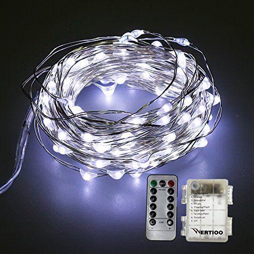 Battery String Lights For Bedroom : 25+ best ideas about Battery string lights on Pinterest Christmas fairy lights, Garden fairy ...