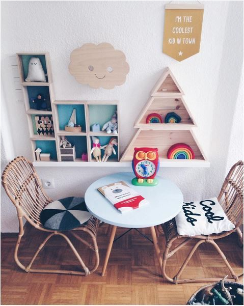 Love this sweet kids interior! #design #playroom
