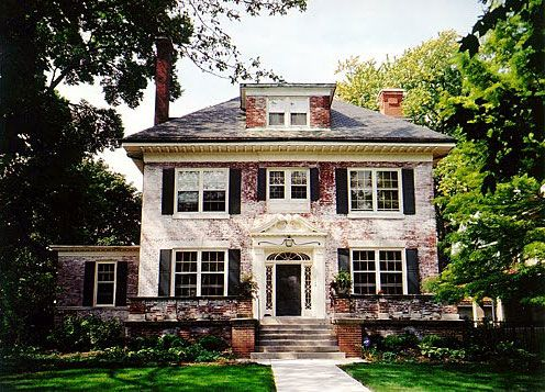 25 best ideas about georgian homes on pinterest for Classic home exteriors