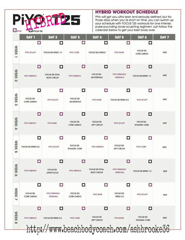 Workout Calendar Ideas : Best t schedule ideas on pinterest insanity