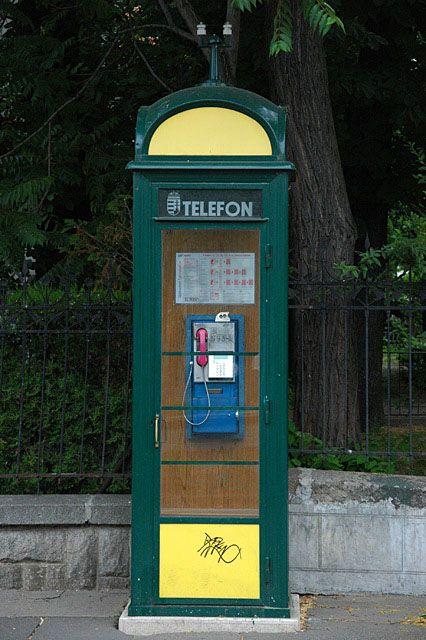 BUD Budapest - Andrassy ut street telephone booth 3008x2000