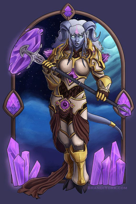 Will Is My Weapon - Print - Yrel World of Warcraft