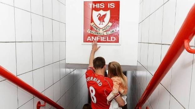 Steven Gerrard Despedida Anfield Liverpool Crystal Palace 16/05/2015