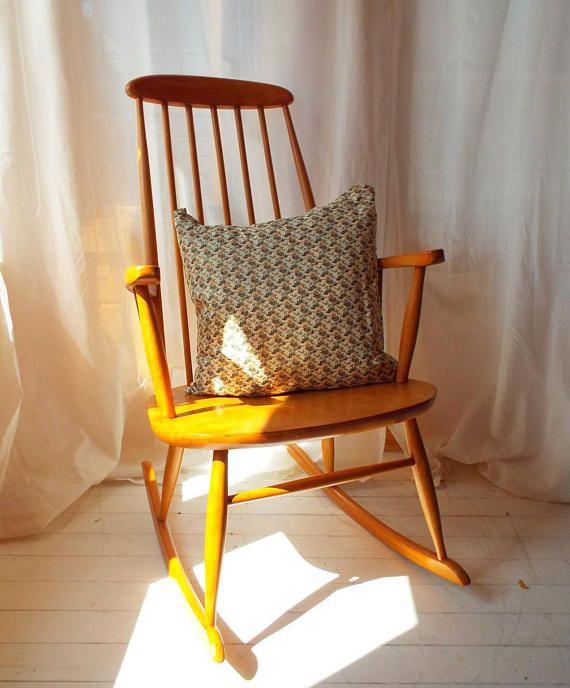 1960s Vintage Rocking Chair From Farstrup Mobler Vintage