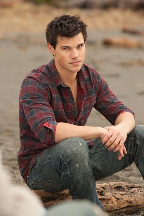 Taylor Lautner. PS- I liked you before you became massively popular. I liked you in Shark boy and Lava girl, and people thought I was just being weird....