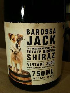 Dolce Drinks: Barossa Jack Shiraz