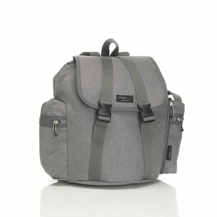 Storksak Changing Bag - Backpack - Grey - Changing Bags - Natural Baby Shower
