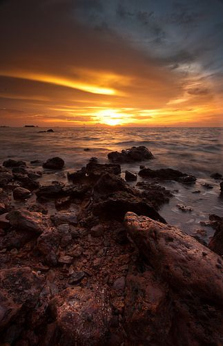 Port Dickson Seascape, Malaysia