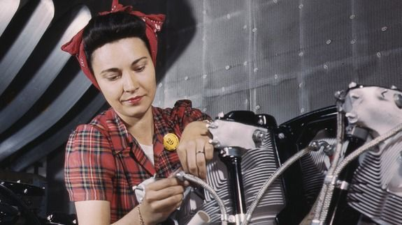 Rosie the Riveter IRL: Meet the women who built WWII planes