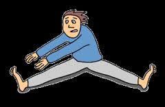 Olen jäykkä kuin rautakanki, mutta pilates ja venyttely pitävät täydellisen jäykistymisen hivenen loitolla.