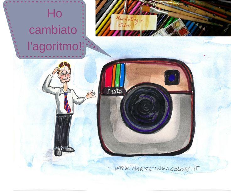 Instagram cambia l'algoritmo? Circola l'informazione che dirà addio all'ordine cronologico e premierà  i contenuti con un engagement reale a discapito dei fake. Quindi per chi ha una community fedele non dovrebbero esserci penalizzazioni.