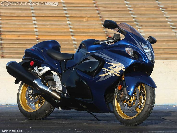 Perfect Suzuki Hayabusa First Ride Motorcycle USA