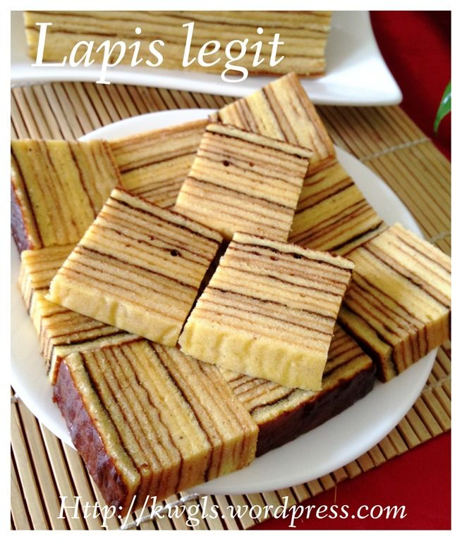Lapis Legit (印尼千层蛋糕)Indonesian Thousand Layer Cake