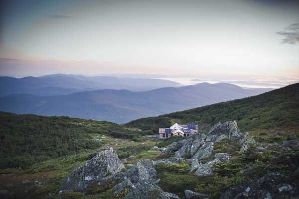 Appalachian Mountain Club's hut on Mount Madison  --Photo Credit: Jarrod McCabe