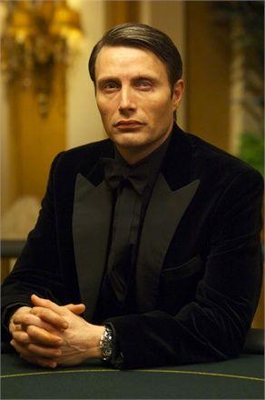 James Bond villain Mads Mikkelsen  as Le Chiffre from Casino Royale