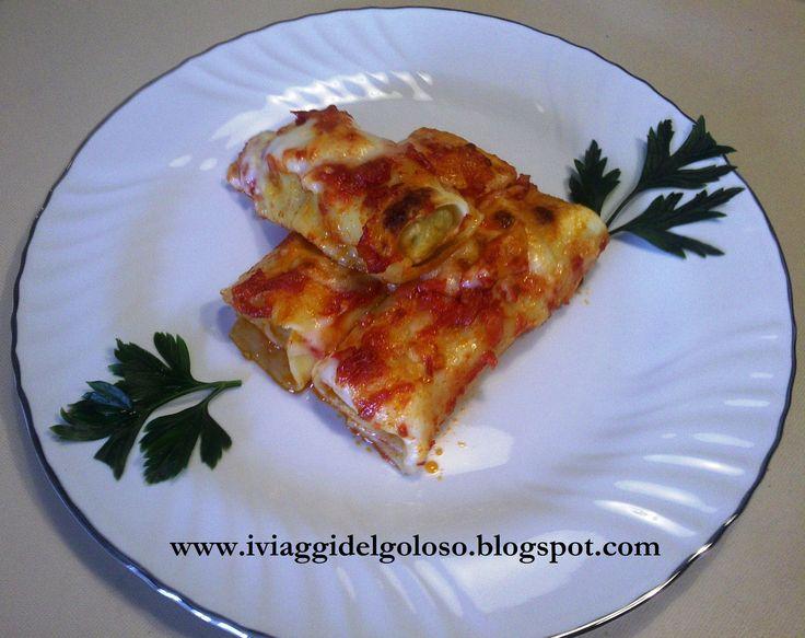 Cannelloni di pesce ... http://www.iviaggidelgoloso.net/search/label/CANNELLONI%20DI%20PESCE