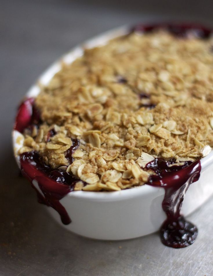 how to make crumble topping without butter