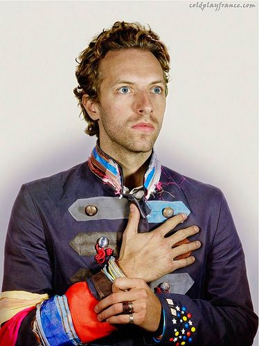 Chris Martin by Nadav Kander.