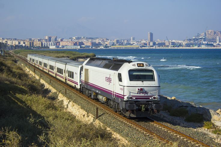 RENFE 334 026 Talgo Mare Nostrum Barcelona - Cartagena