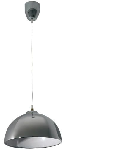 Catena Pendant 30cm - Brushed Chrome, Pendants, Contemporary, New Zealand's Leading Online Lighting Store