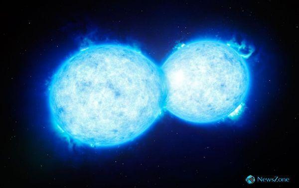 Астрономы показали предсмертный поцелуй гигантских звезд http://apral.ru/2017/04/28/astronomy-pokazali-predsmertnyj-potseluj-gigantskih-zvezd/  Фото: ESO «Поцелуй» звезд Эти звезды из туманности Тарантула вскоре превратятся в черные дыры. Европейские астрономы нашли всоседней галактике необычную [...]
