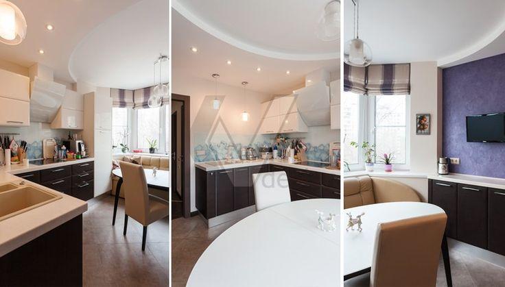 фотографии кухни в 3-комнатной квартире П-44Т - 4