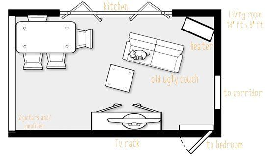 Small Living/Dining Room Layout Ideas? — Good Questions