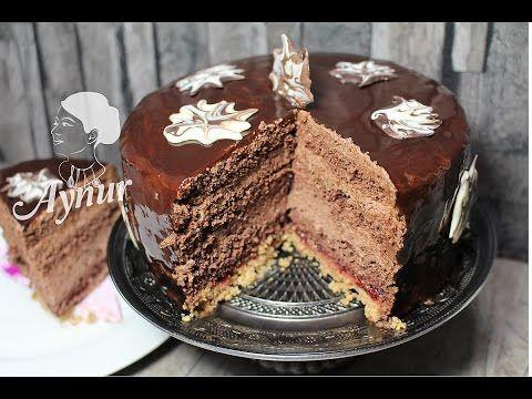 Parlak jöleli Çikolatalı Yaş Pasta Yapılışı# Gerçek pastane usulü Yaş Pasta# Yılbaşı pastası - YouTube
