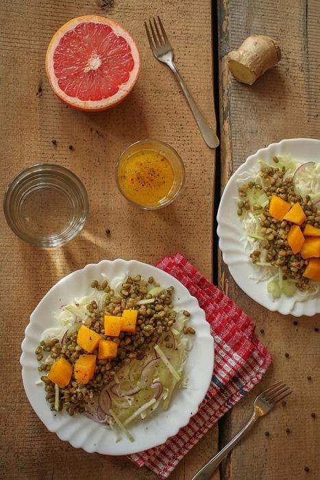 GOOD FOOD - Детокс-салат с золотистой фасолью