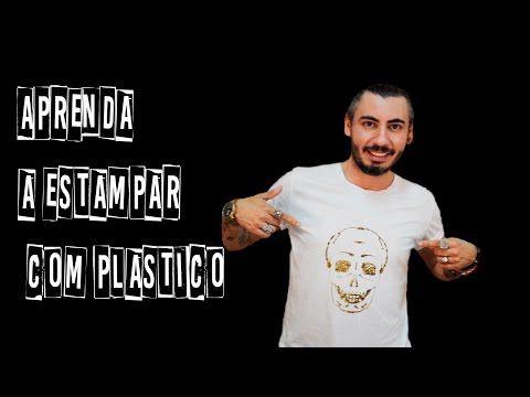 46a5f910e3044 Como Estampar Cualquier Tela con Papel Plastico - YouTube