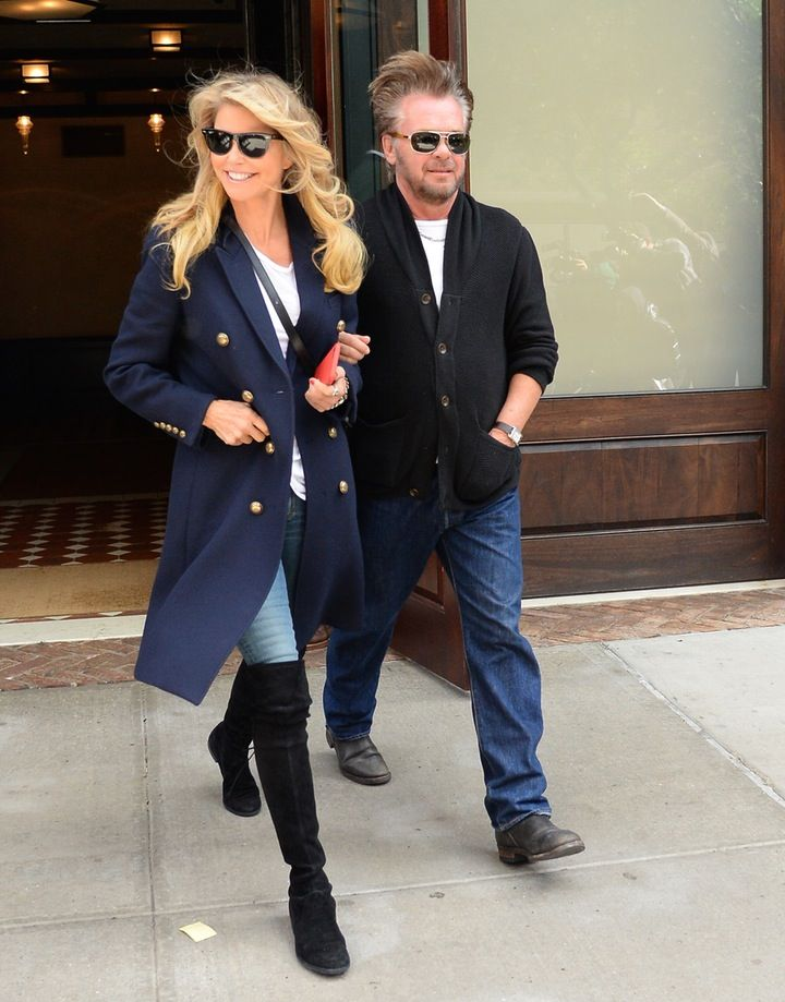 REPORT: Find Out the Interesting Reason Why Christie Brinkley Split With Boyfriend John Mellencamp