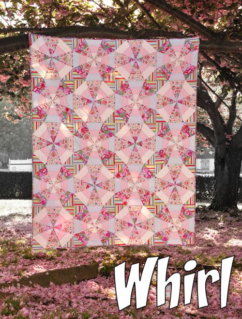 Recently, I've been asked about the kaleidoscope quilt I made from my CSDs fabrics . I just finished making a pattern for the qui...