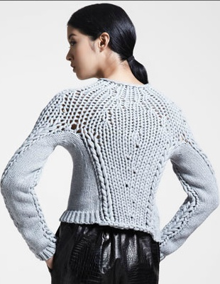 Alexander Wang chunky knit sweater