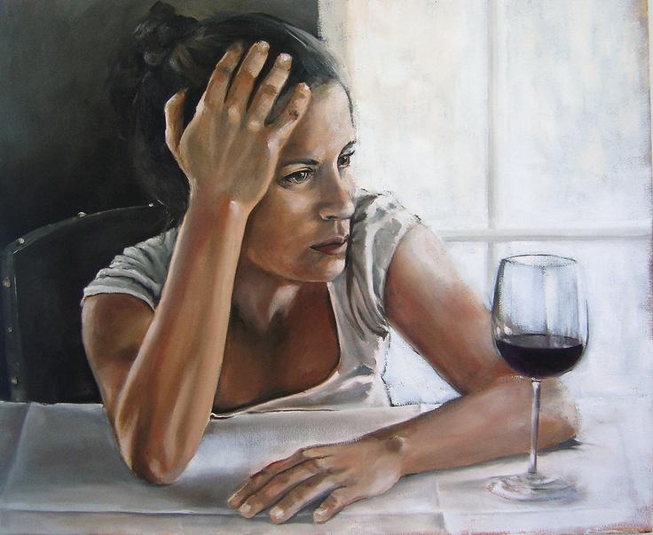 Bianca's Hands: I - Painting by Mila Posthumus | StateoftheArt.co.za